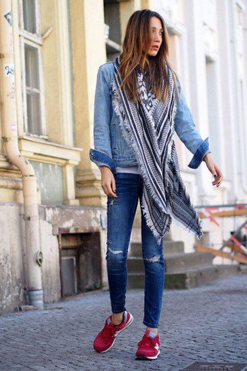 zapatillas nike para usar con jeans