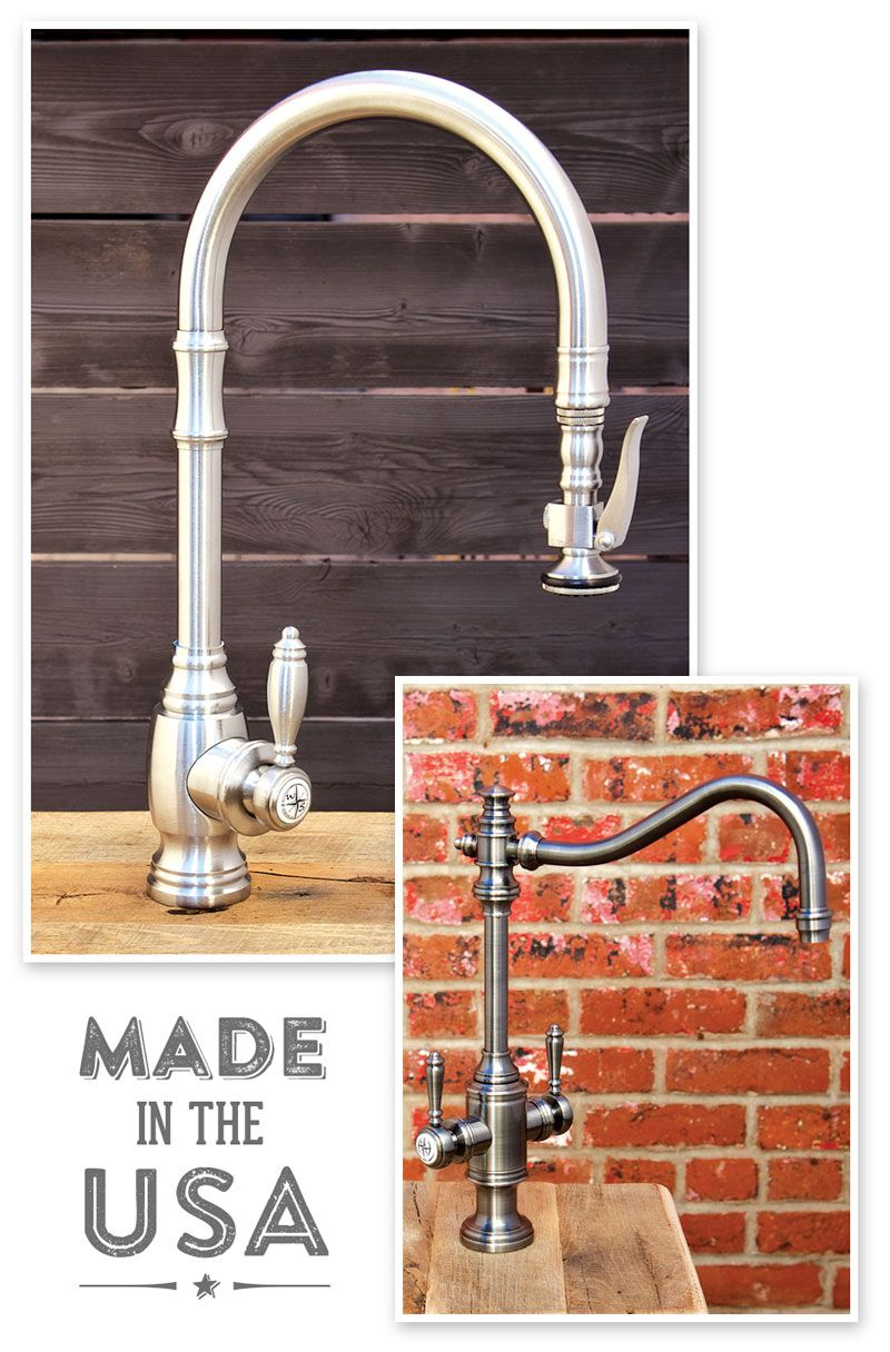 Waterstone Made In America Kitchen Faucet Kitchen Faucet Design Stainless Steel Kitchen Faucet