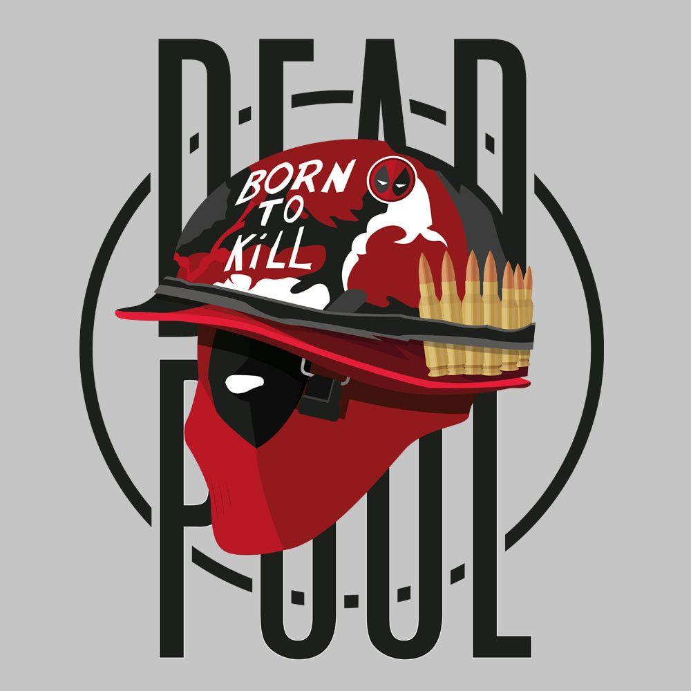 Deadpool Full Metal Jacket Born To Kill