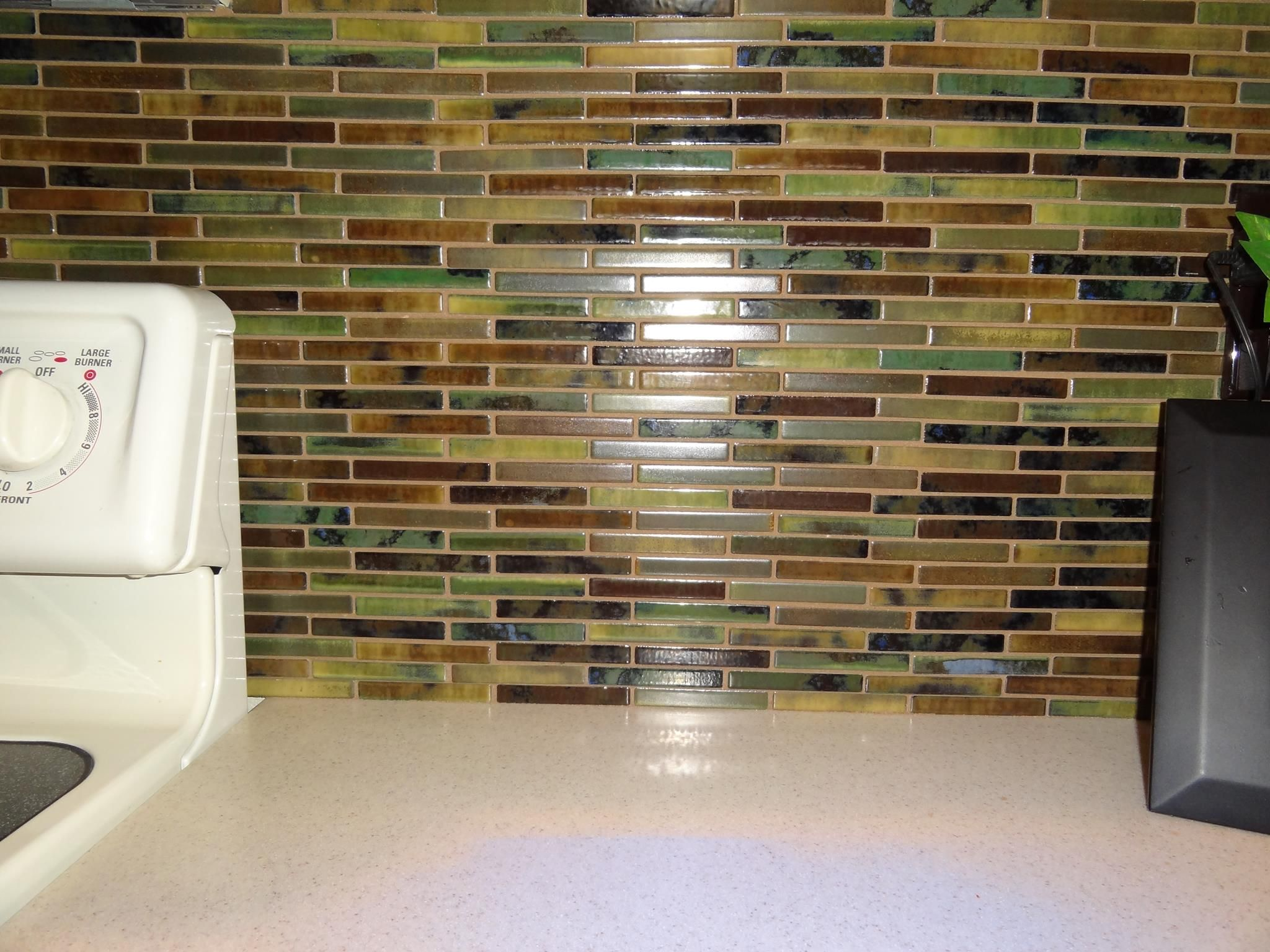 Glass Pencil Tile Has Become Super Popular With Kitchen Remodeling Beauteous Phoenix Bathroom Remodeling Inspiration