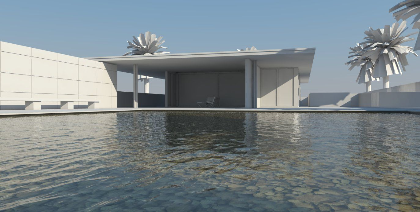 Nomeradona tutorial how to create pool water in vray for Pool design sketchup