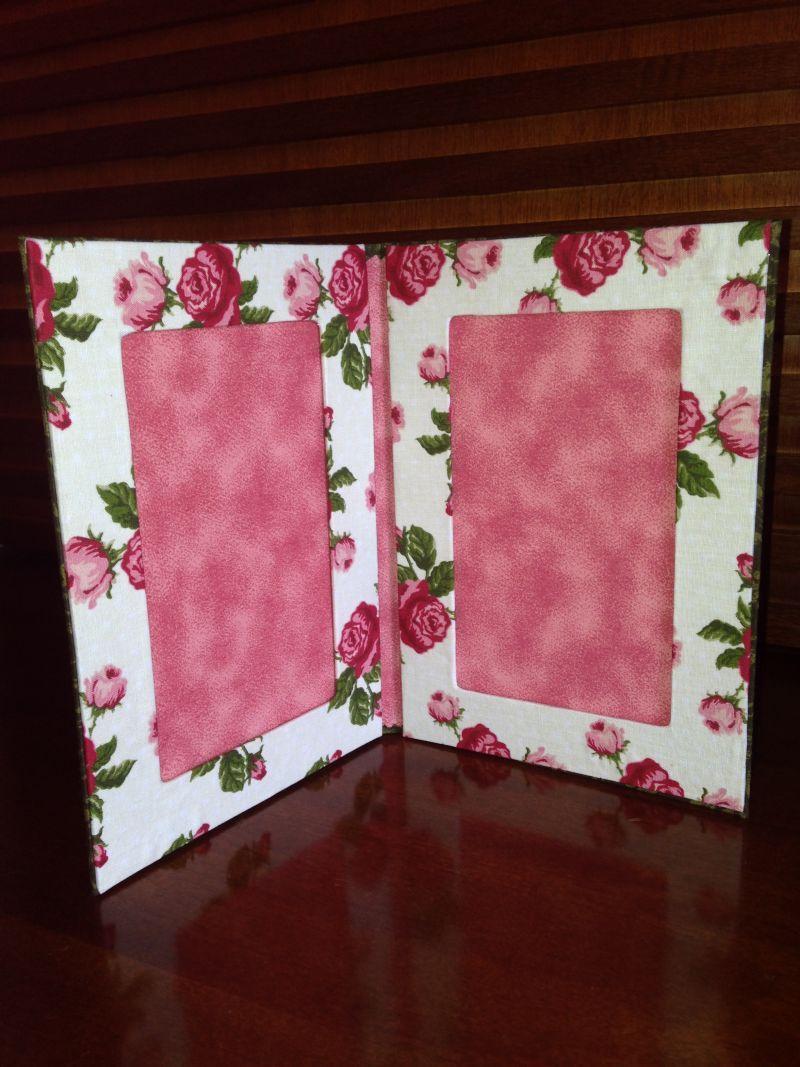 Porta Retrato De Tecido E Papelao 30 Ideias Porta Retrato