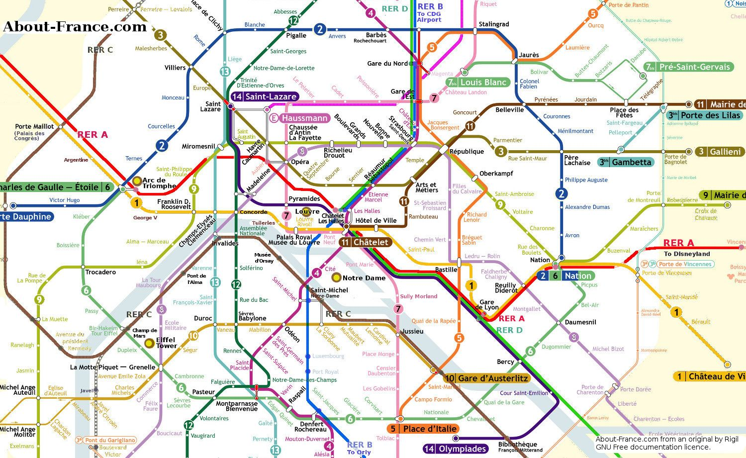 Subway Map Paris English.Image Result For Paris Metro Map Travel Ideas Paris Map Paris