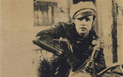 Savage Roads: Iconic Marlon Brando on 1950 Triumph Thunderbird