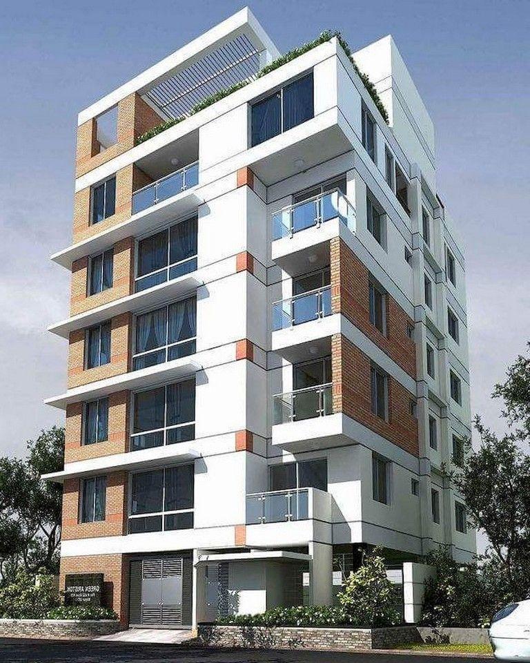 51 Awesome Modern Facade Apartment Decor Ideas Apartmentgardening Apartmentdecor Apartmentl Facade Design Facade Architecture Design Apartment Architecture