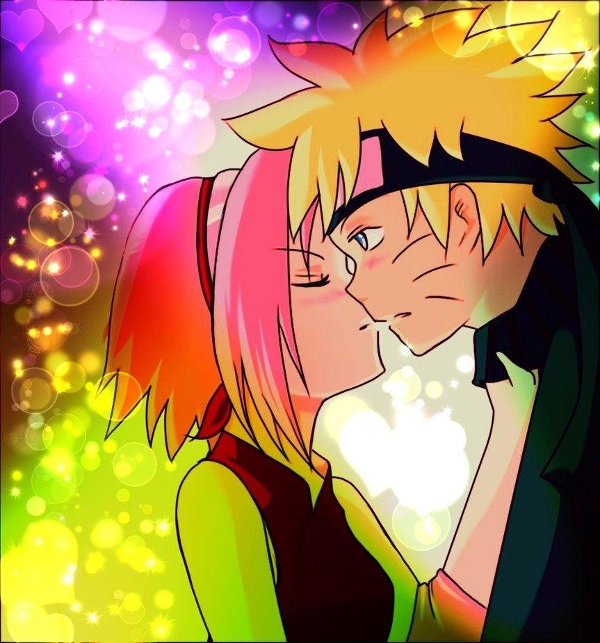 Sakura want kiss to Naruto /NaruSaku Shippuden
