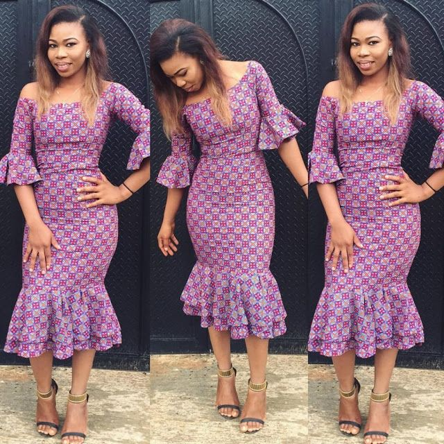 6207a0fcc4e Simple Fittess Ankara Gown Styles : Simple Styles - DeZango Fashion Zone
