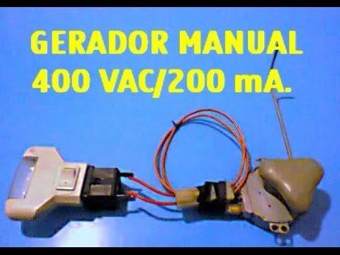 Como produzir energia de alta voltagem(sem fake) - 400 VAC