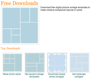 free photoshop collage templates