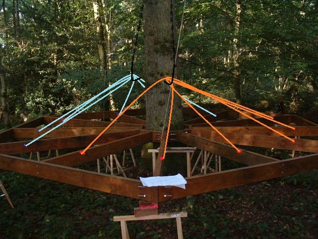 cabanes dans les arbres fixations recherche google building tree house pinterest tree. Black Bedroom Furniture Sets. Home Design Ideas