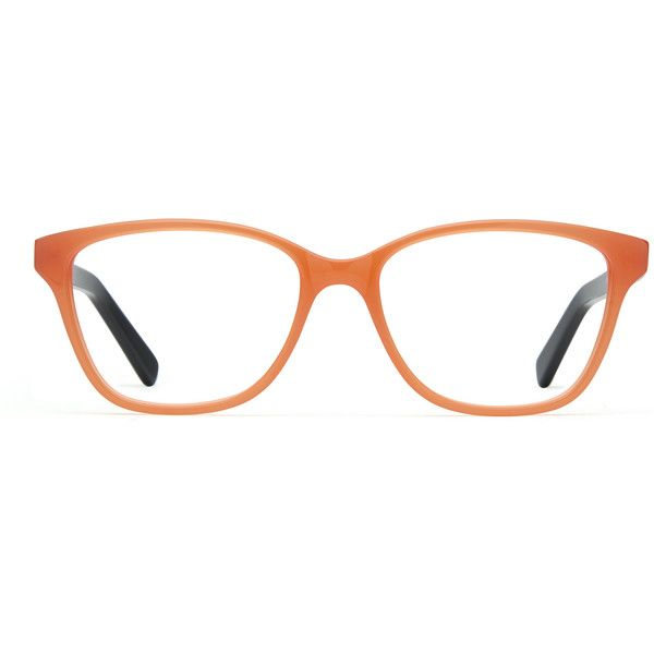f62ccc1d6a iSee Eyewear Zoey Coral w Black ( 89) ❤ liked on Polyvore featuring  accessories