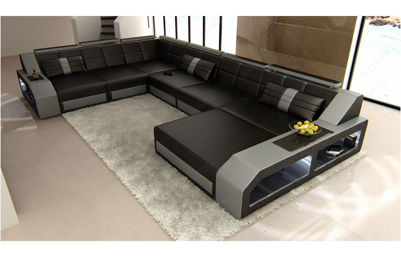 Majestatisch Sofa L Form Mit Schlaffunktion Modern Sofa Sectional Luxury Sofa Grey Sectional Sofa