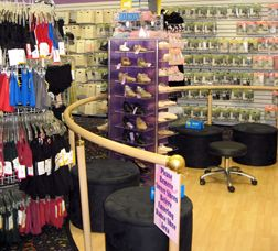 Pin By Dance Retailer News On Eye Catching Displays Dance Shops Boutique Decor Window Decor