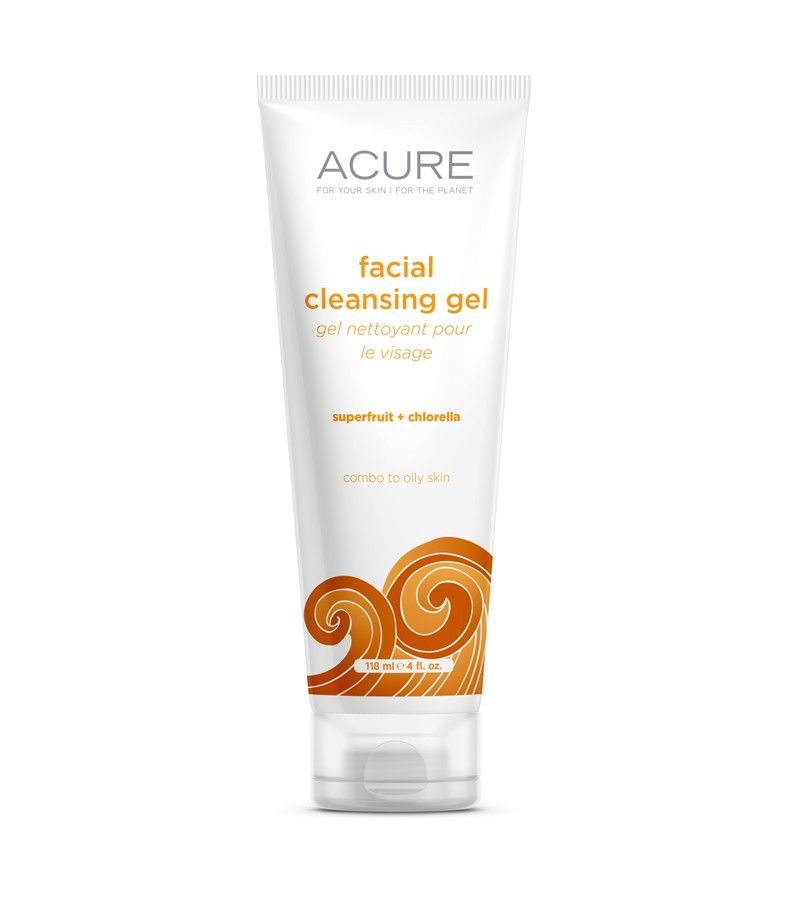 Acure Organics Facial Cleansing Gel- Great For Oily Skin