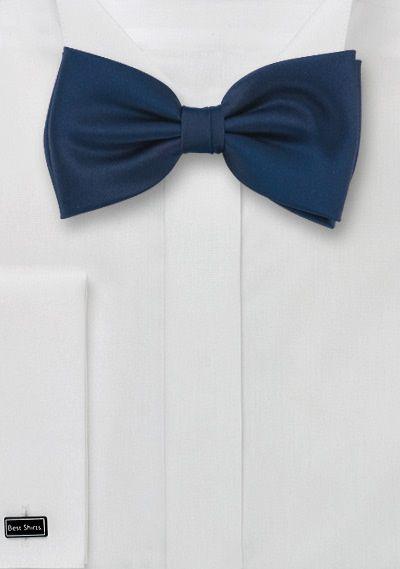 Pre tied bow tie - Woven Jacquard silk in solid aubergine purple Notch 4CT0WYr