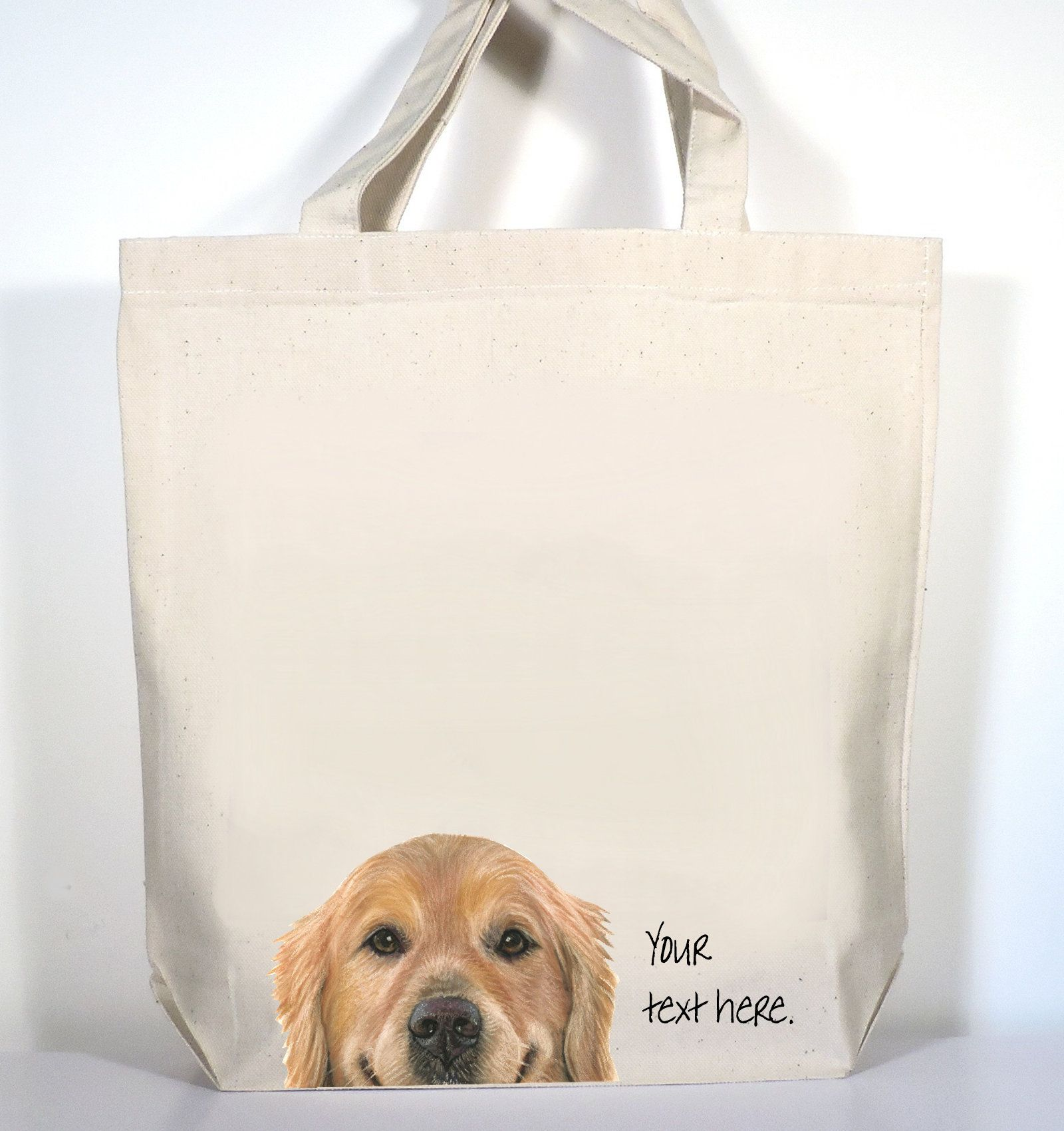 Golden Retriever Tote Golden Retriever Gift Golden Retriever Etsy Golden Retriever Gifts Gifts For Pet Lovers Tote