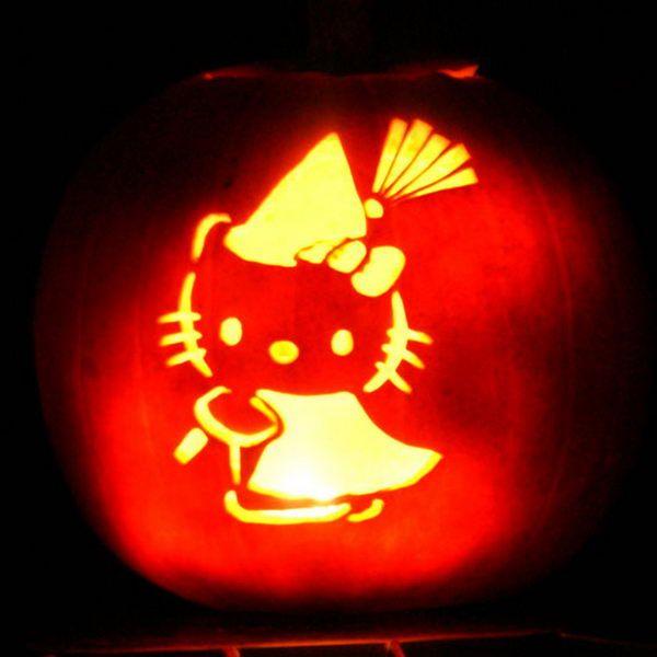 Hello Kitty Pumpkin Halloween Pinterest Hello kitty, Kitty - hello kitty halloween decorations