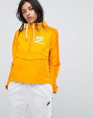 performance sportswear top brands exclusive deals Nike Archive Pro Woven Jacket In Mustard in 2019 | Jackets ...