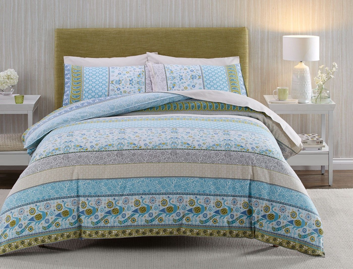 celine flannelette quilt cover set bed bath nu0027 table