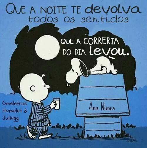 Ana Nunes Coisas Minhas Snoopy Frases E Good Night