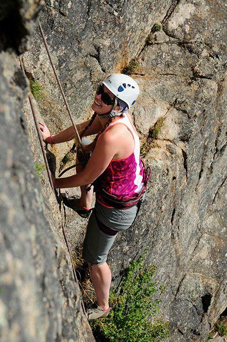 Basic Rock Climbing - RockyMountainGuides.com