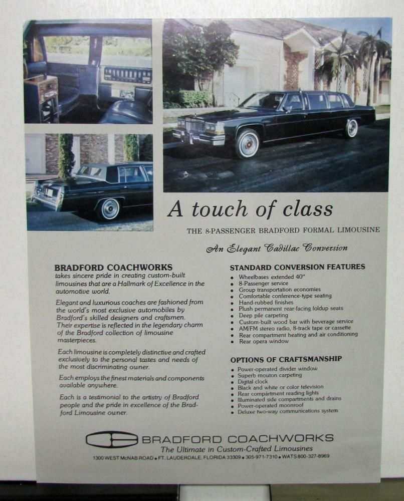 Pin On Cadillac Limousine
