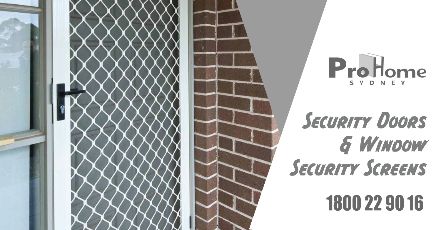 At prohomes we are able to manufacture rugged custom security doors