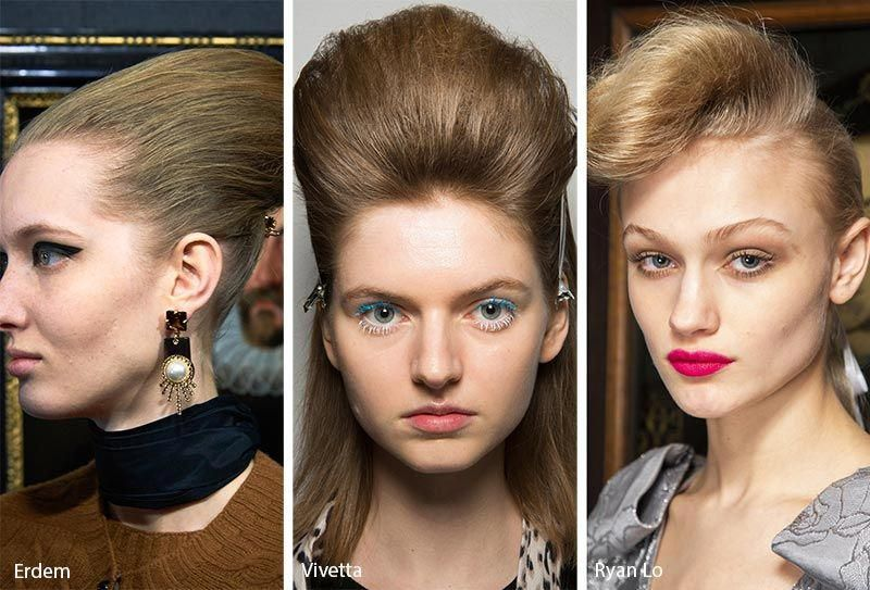 Fall Winter 2019 2020 Hairstyle Trends Hair Trends Hair Styles