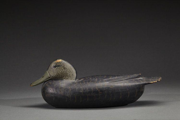 Tom Fitzpatrick black duck   Delaware River Duck Decoys in ...
