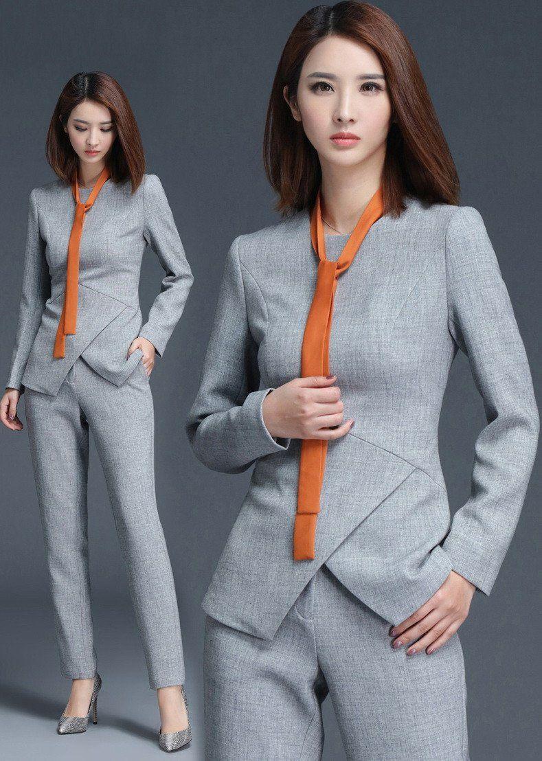 Womens Gray Pantsuit | Pantsuits & More | Pinterest | Gray