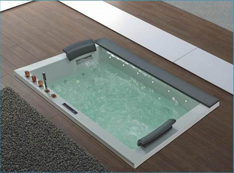 Modern Design Jacuzzi Tubs in floor install, nice! | Hot Tubs and ...
