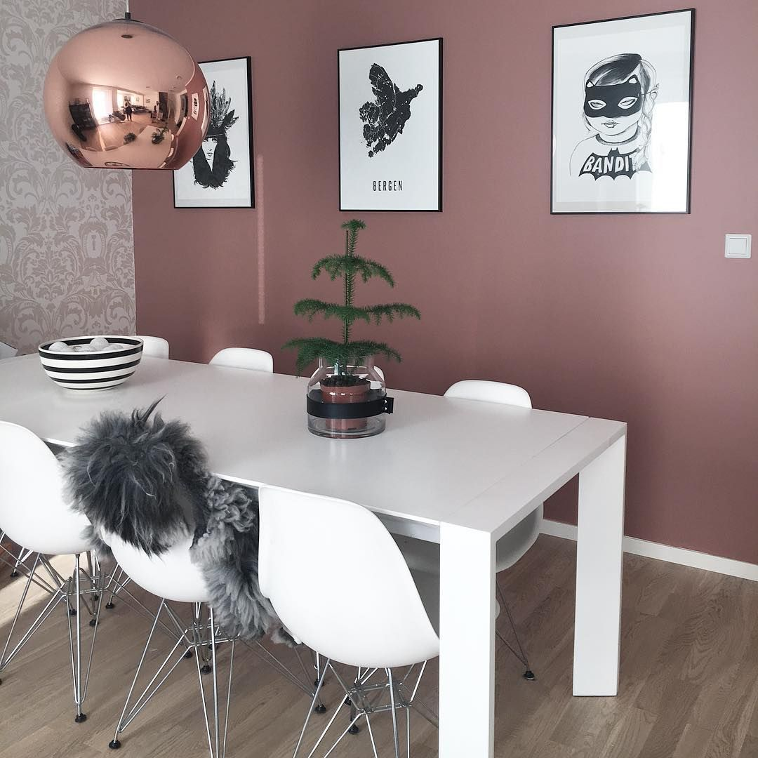 Warm Dining Room Colors: REI - Dining Area & Breakfast Nook