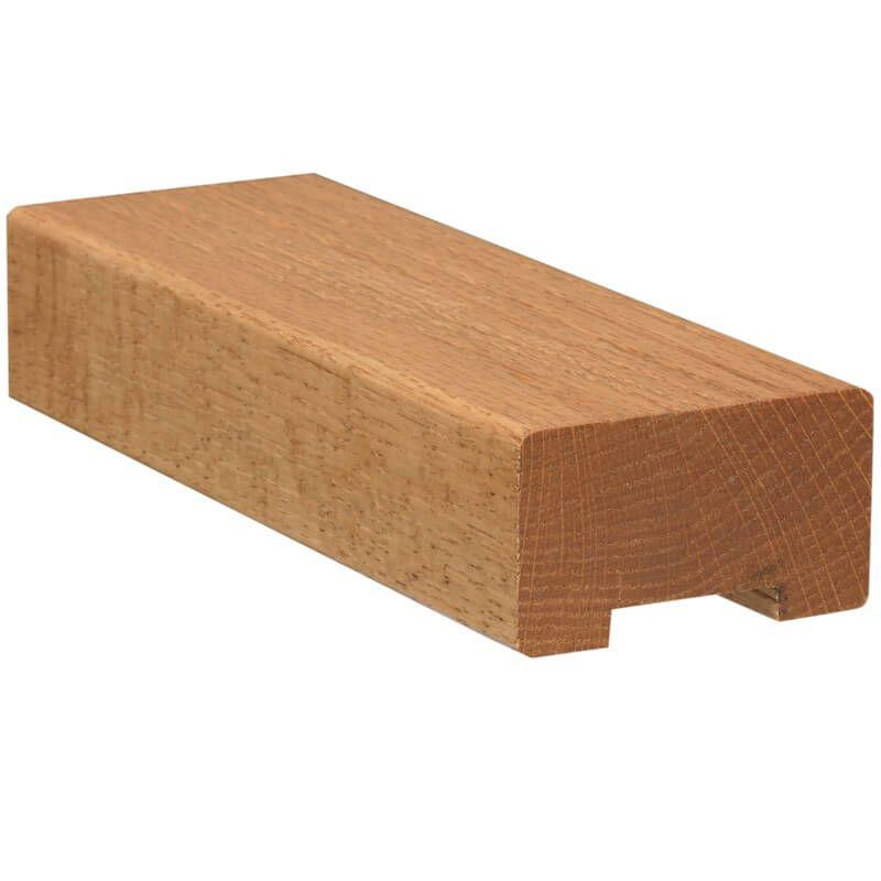 Best Wood Handrail Plowed 1 1 4 6000 Hampson In 2019 Wood 400 x 300