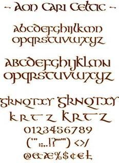scottish gaelic font tattoos - Google Search | Cool stuff