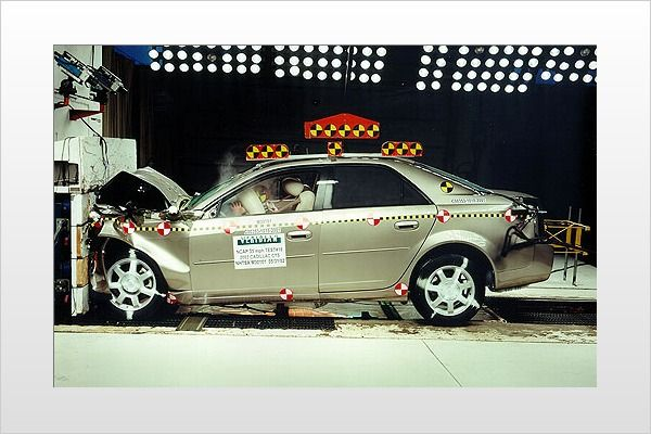 What crash test ratings mean...