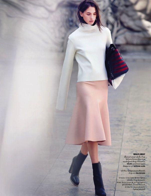 Crista Cober by Marcin Tyszka for Vogue Thailand