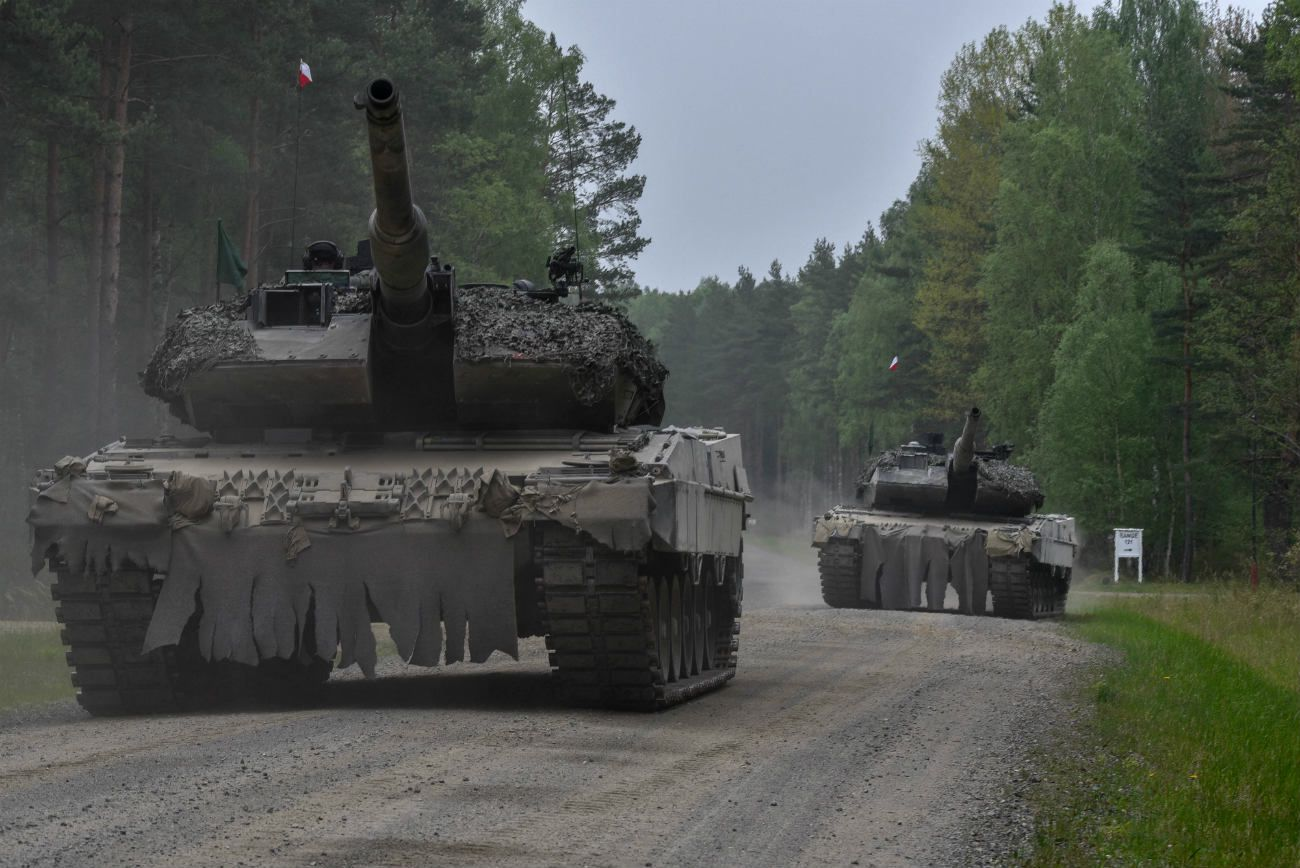 Stunning Images Of Battle Tanks From Around The World