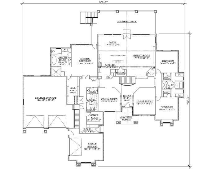 Floor Plan First Story a dream home Pinterest