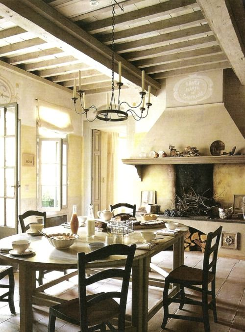 dining #room with a #provence #touch