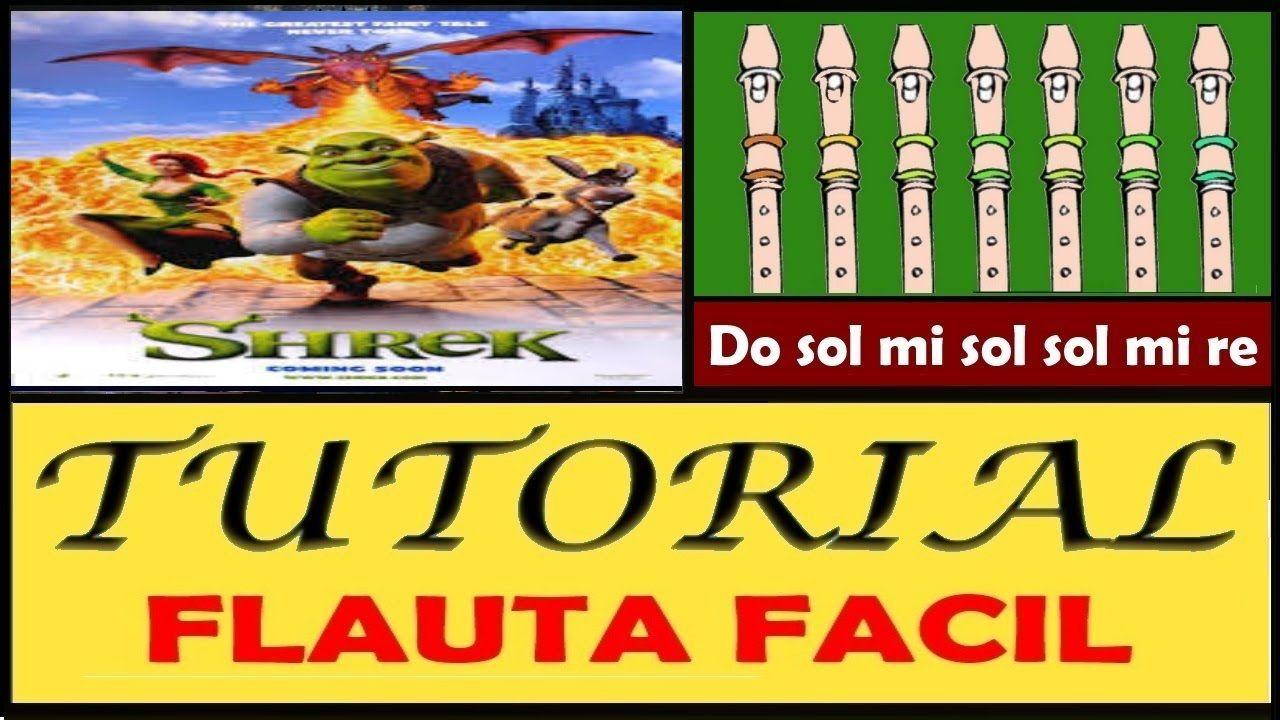 Shrek - Halleluja en Flauta Dulce \