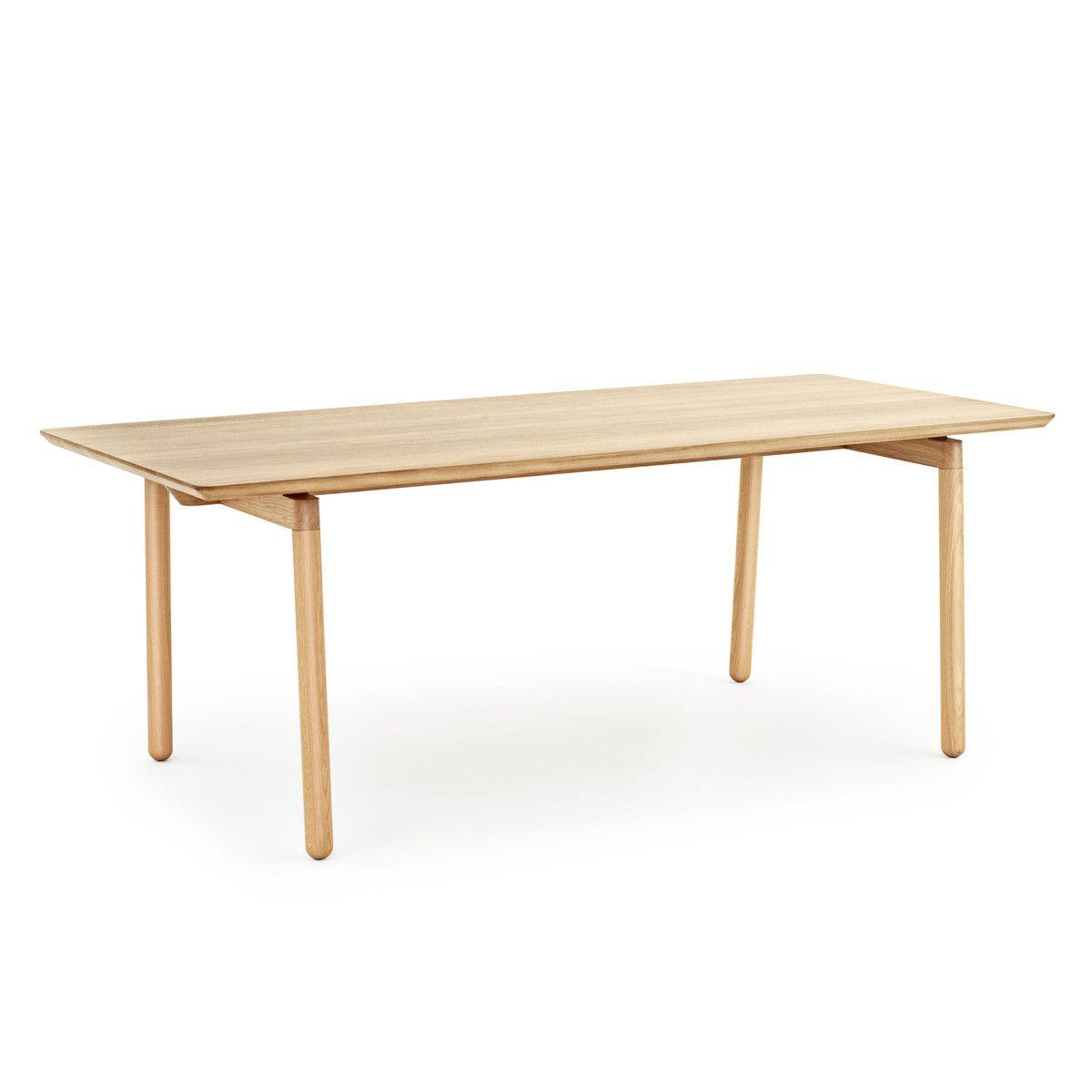 Normann Copenhagen Nord Esstisch Rechteckig Möbeldesign Esszimmertisch Holz Esstisch Design