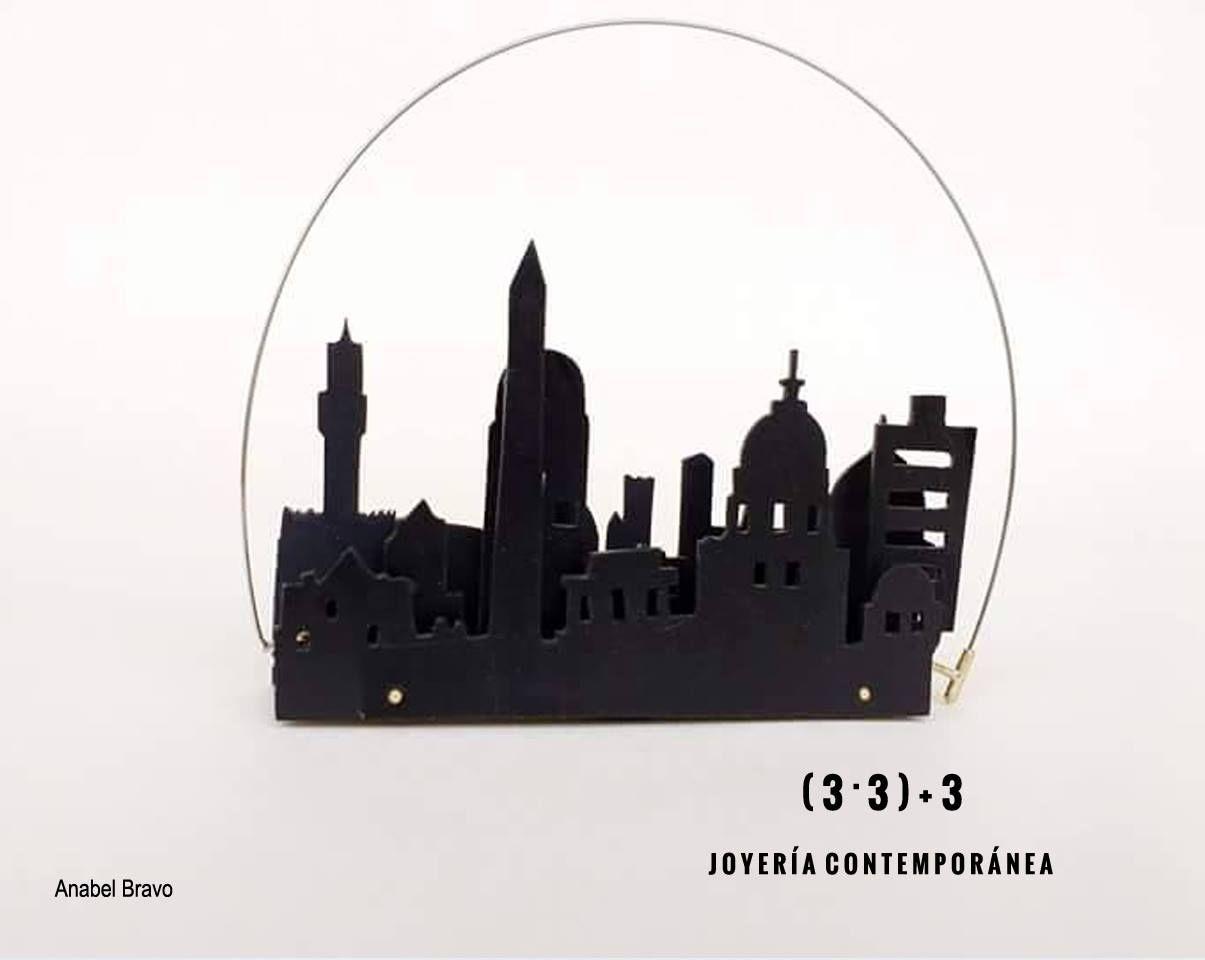 """Fabrika12 : 30 octobre 2016 .....  es el último día para visitar la exposición """" ( 3 · 3 ) + 3 Joyería Contemporánea """" en la sala Vestíbulo de Fabrika12"""