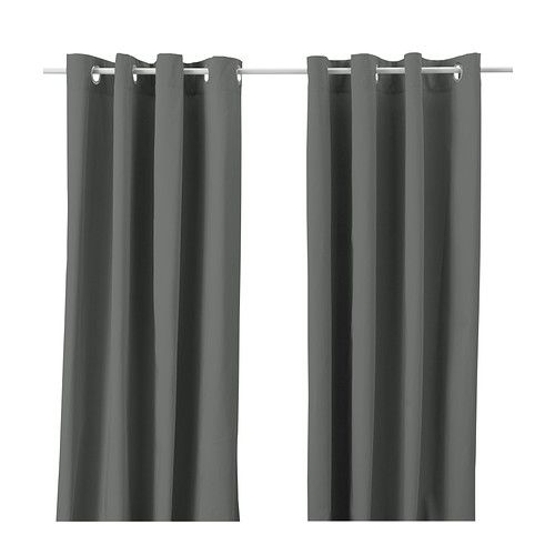 cortinas grises ikea