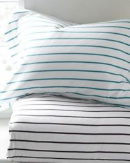 Classic Stripe Jersey-Knit Bedding