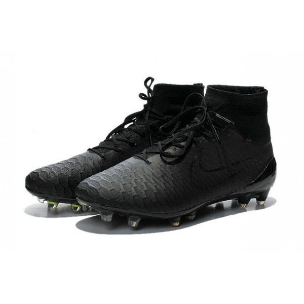 Nike Magista Obra Mens Firm-Ground Football Boots all Black