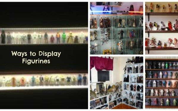 ideas and ways to display star wars figurine collection