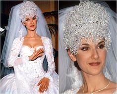 Image Result For Celine Dion Wedding Dress