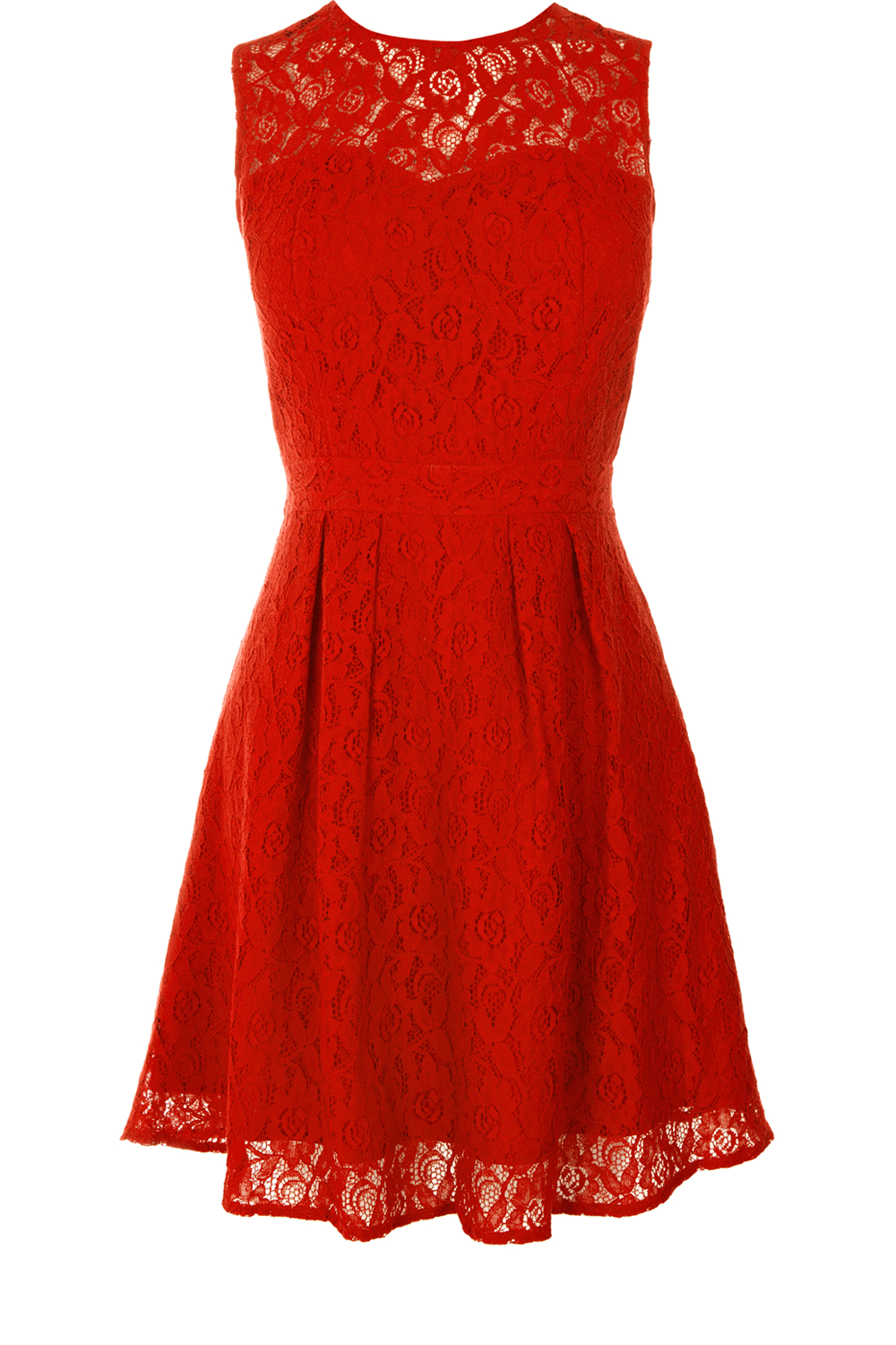 Oasis all dresses rich red lace sweetheart dress womens fashion