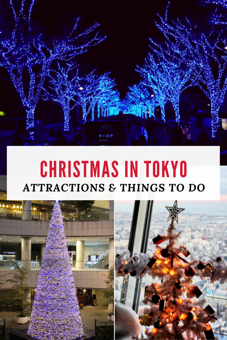 christmas in tokyo winter illuminations japan travel. Black Bedroom Furniture Sets. Home Design Ideas