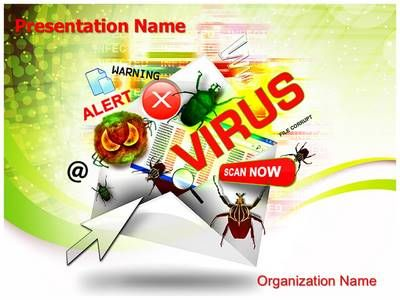 email virus powerpoint template is one of the best powerpoint, Modern powerpoint